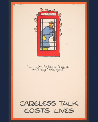 Government Poster Campaigns in the Second World War